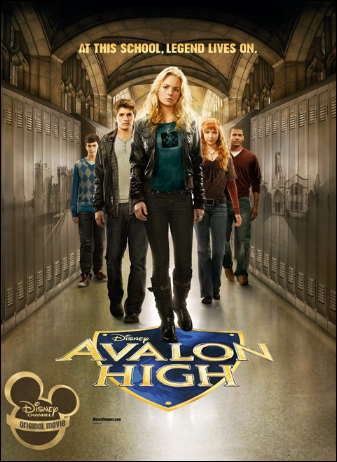★ ★ ★ ★ ☆ / Avalon High, un amour légendaire