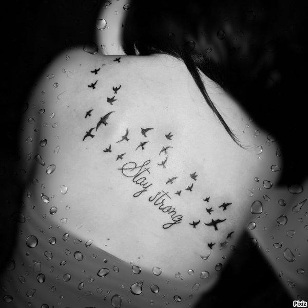 Mon premier tatouage qui révèle beaucoup de choses...