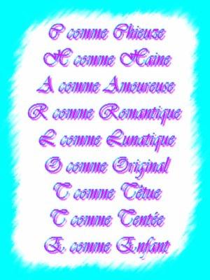 Un Poeme Avec Mon Prenom Dawn1013