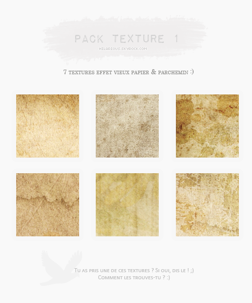 Pack textures 1