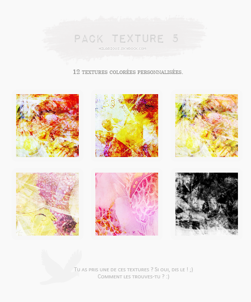 Pack textures 5