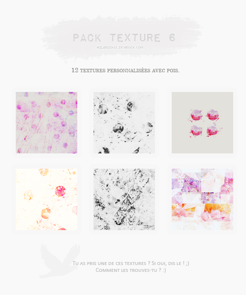 Pack textures 6