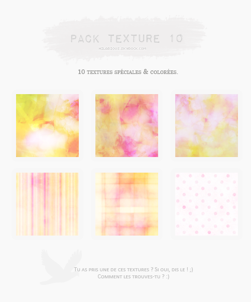 Pack textures 10