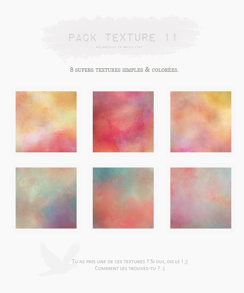 Pack textures 11