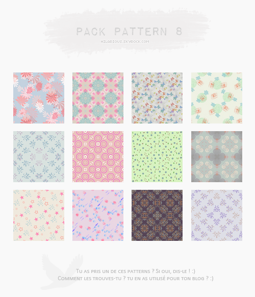 Pack pattern 8