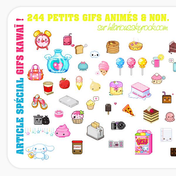Pack spécial 244 Gifs ! :)