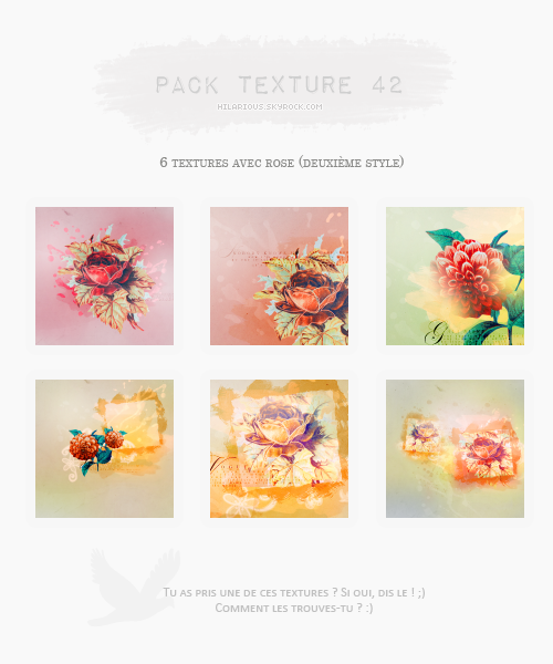 Pack textures 42