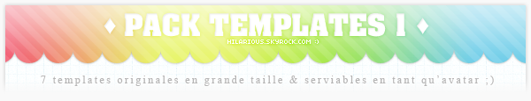 Template pack 001