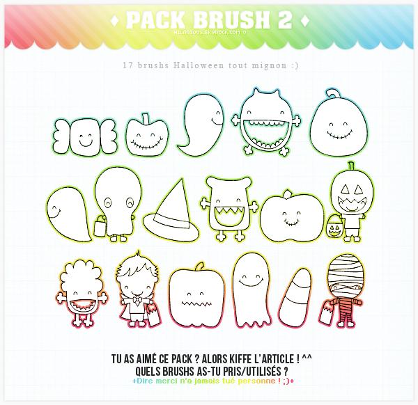 Pack brushs 2