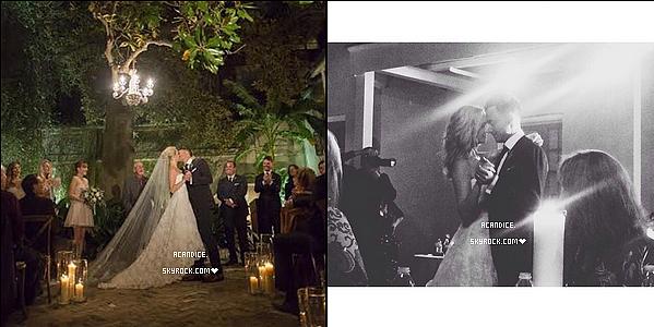 ~ 20/10/2014 : Mr. and Mrs. King on postés tous les deux une magnifique vidéo qui résume leur mariage, (article juste en dessous). (+) deux nouvelles photos du mariage.  ♥