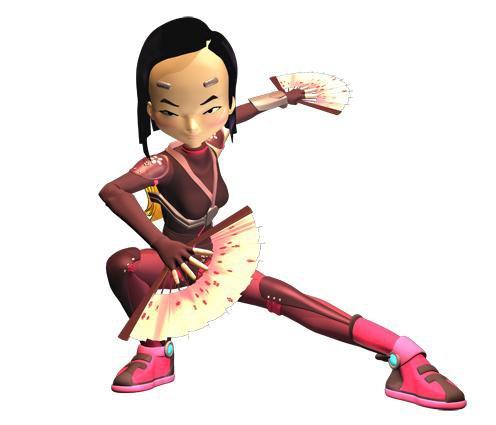 Fiche personnage:Code Lyoko sur Lyoko.