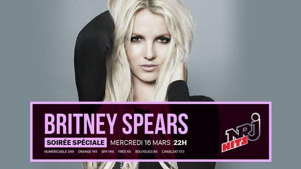 Soirée spéciale Britney Mercredi à 22h sur NRJ HITS