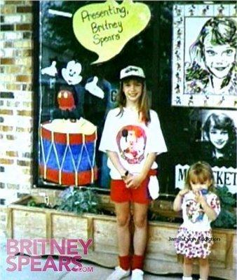 Britney  la petite Mousketeer