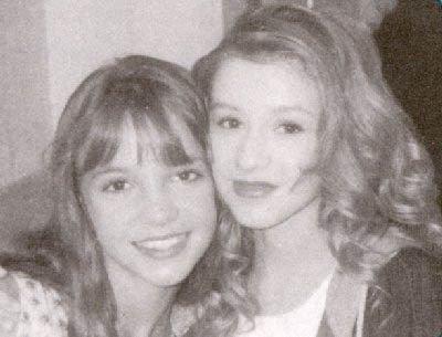 Britney et Christina petite au Mickey Mouse Club