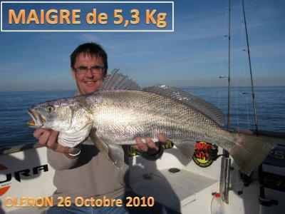 26 /11/2010 Sortie sur le bateau du CAPITAINOJ
