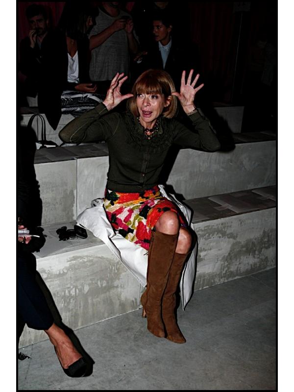 ~ Personnalité: Anna Wintour, rédactrice en chef Vogue US