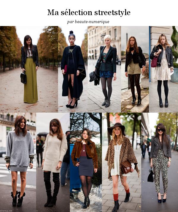 ~ Streetstyle: Petite sélection de tenues d'automne et d'hiver