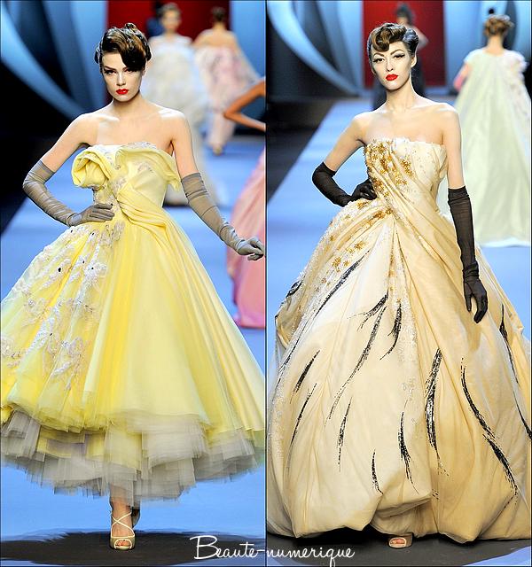 ~ Haute couture: Printemps/Eté 2011 Christian Dior