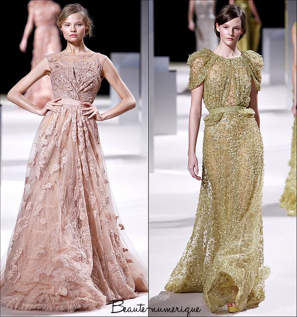 ~ Haute couture: Printemps/Eté 2011 Elie Saab