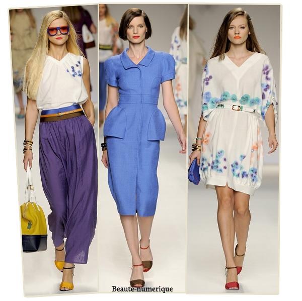 ~ Fashion week:  Sélection des défilés pap printemps/été 2011