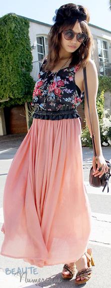 ~ Tendance printemps/été 2011:  La jupe semi-longue