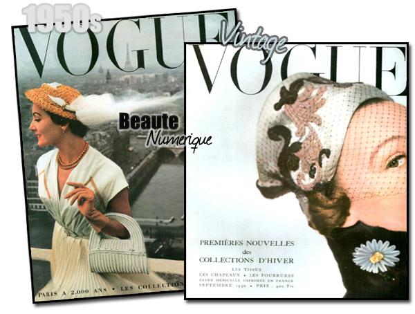 ~ Spécial: Vogue Paris, une sélection de quelques unes des plus belles couvertures...