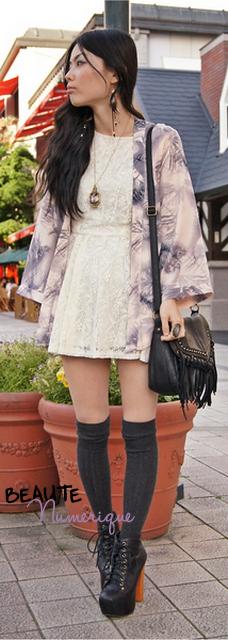 ~ Tendance printemps/été 2011:  Le kimono