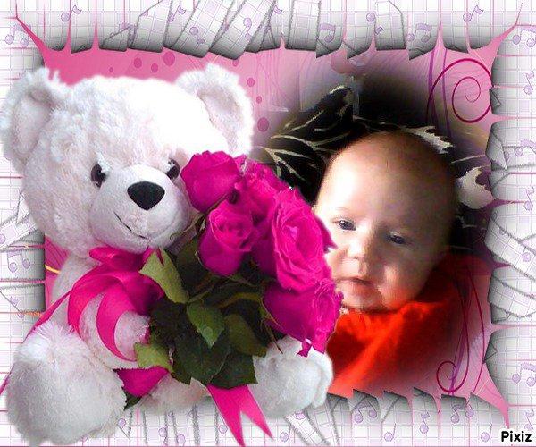 ma petite niece liana ma petite princesse deja 2 mois