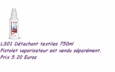 détachant  textiles