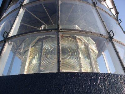 Le phare de Chassiron (2)...la vue d'en haut!