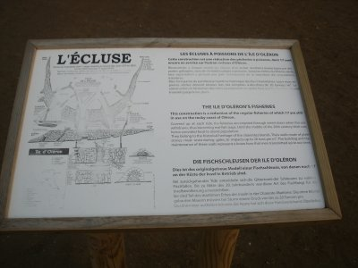 Le phare de Chassiron (3)... les jardins et l'écluse à poissons