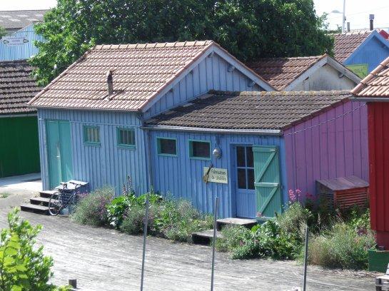 Le Château d'Oléron...les cabanes colorées (1)