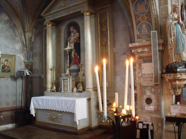Marennes...l'église!