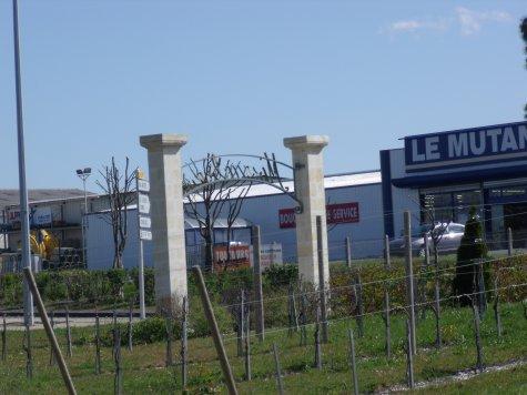 Nouveau rond-point...en Haute-Saintonge!