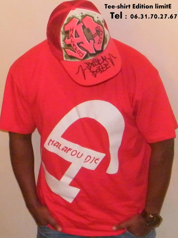 Tee-shirt Halafou-dje homme  Edition limité