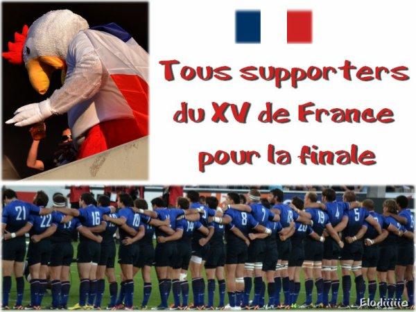 Finale de la Coupe du Monde 2o11 : France / Nouvelle Zélande