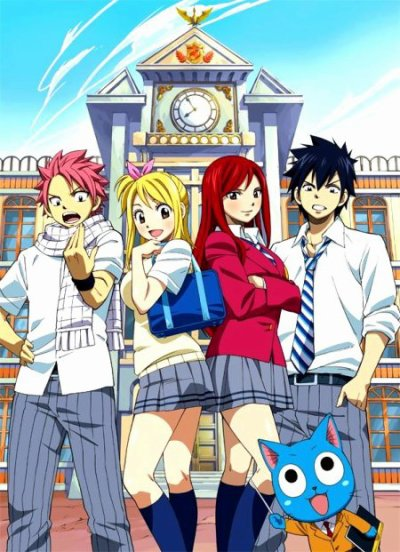 Fairy tail / Fairy tail Opening Oav : Eternel Hollow ♥ (2011)