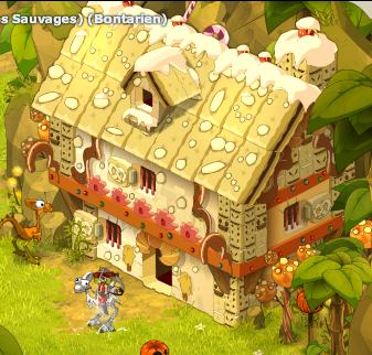 Maison en pin d'épice
