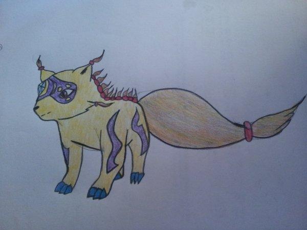 dessin n°2: renard fantastique
