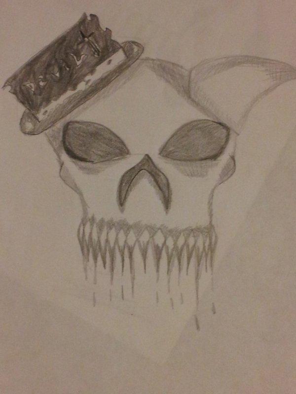 dessin n°3: enfin des crânes !