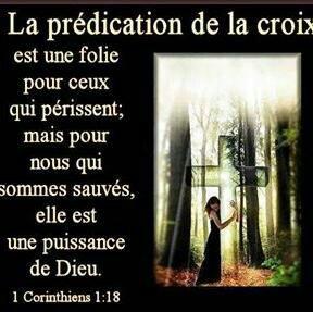 La prédication de la croix