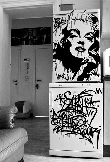 ART STREET : MARILYN MONROE
