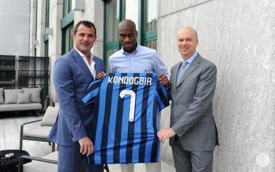 Geoffrey Kondogbia rejoint l'Inter Milan