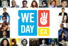 "Selena sur la photo promotionnelle de "" we day california """