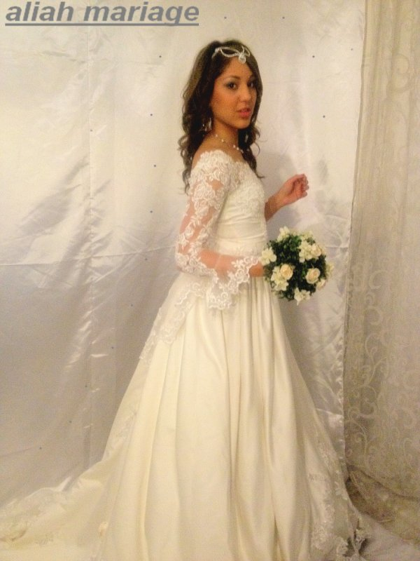 robe de mariée t36/38