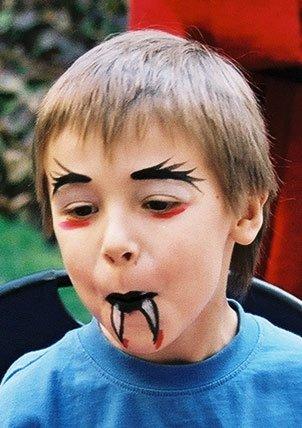Maquillage pour enfants par madame //TOURIA