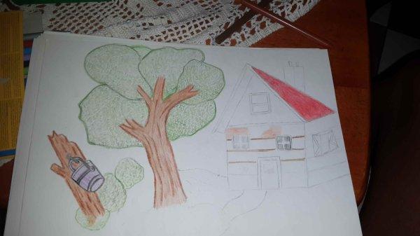 début de dessin