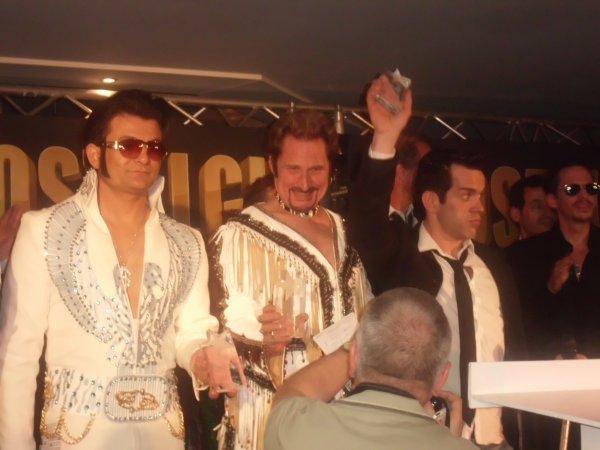 CE SAMEDI 24 /03/2012....NOTRE JOHNNY A REMPORTER LE 2 eme PRIX AU FESTIVAL DES SOSIES DE BELGIUM PERFORMER .......BRAVO....GENIAL.......FELICITATION......TU ES LE KING....