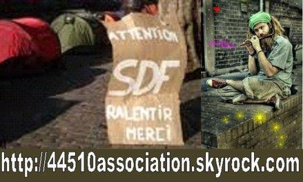 MERCI A RAYDODO POUR NOTRE BELLE AFFICHE DE NOS AMIS SDF