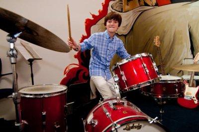 Le 27 août 2010. Greyson à San Francisco le lendemain de sa performance pour Youtube.